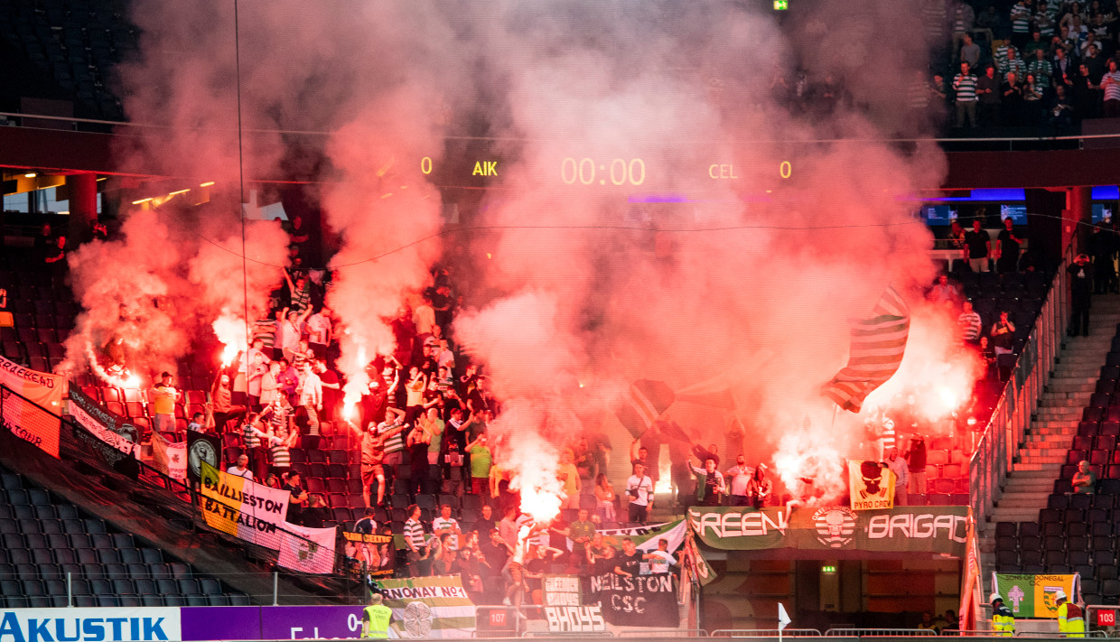 Celtic And Aik Stockholm Hit With Uefa Fines