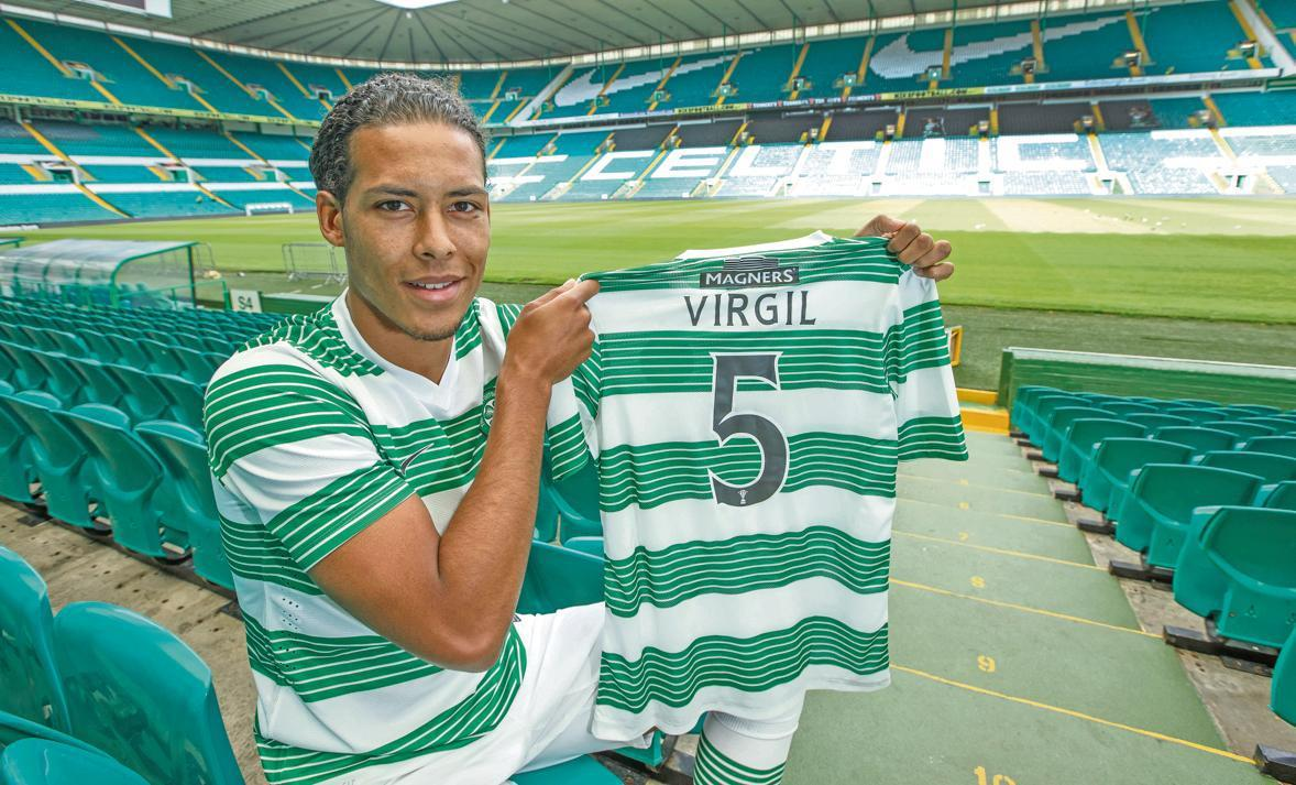 It's not going to be in danger any more – it is Celtic's title ...